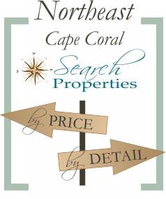 Northeast Cape Coral neighborhood search by price or detail