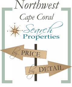 Northwest Cape Coral neighborhood search by price or detail
